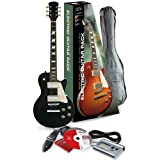 Rocket EGL44BKPK Série L Pack guitare électrique Rock Translucide/Noir