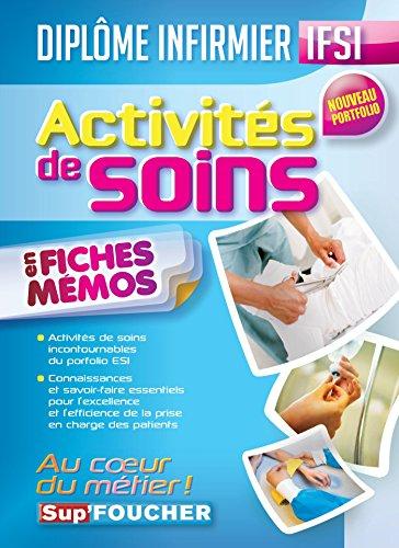 IFSI Activités de soins - Nouveau portfolio - Diplôme infirmier