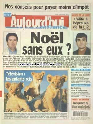 aujourdhui-en-france-no-1118-du-21-12-2004-liberation-de-christian-chesnot-et-georges-malbrunot-les-