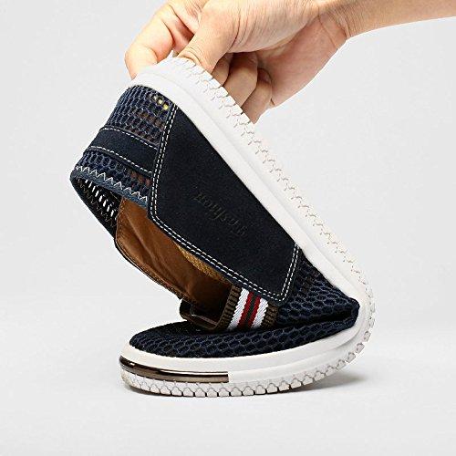 Yiruiya Scarpe da Acqua Trasparente Scarpe Sportive da Uomo Scarpe da Corsa Blu