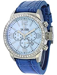 TW Steel Marc Coblen Edition Chrono mit Lederband 42 MM Blue MOP/Blue MCPR6