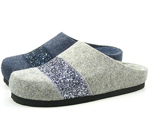 Dr. Brinkmann Damen-Pantolette blau 320501-5