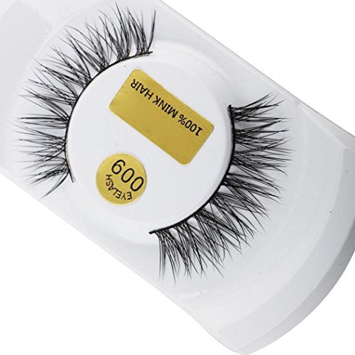 Wawer False Eyelashes  1 Pair Luxury 3D Fluffy False Lashes  Long Natural Fake Eye Lashes Professional Makeup Handmade Lashes Crisscross Messy Extension Tools Women Cosmetic For Party Club  Black-3H