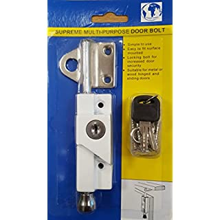 Supreme Multi-Purpose Door Bolt White - 8K116