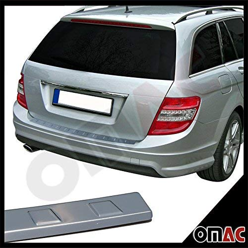 Chrom Ladentenschutz V2A mit Abntung C Klasse W204 T-Modell (W204 Mercedes)