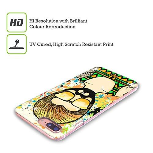 Head Case Designs Testa Rossa Hippy Estivi Cover Retro Rigida per Apple iPhone X Hipster
