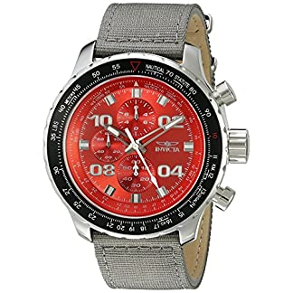 Invicta Analogue Red Dial Men's Watch – 18780Syb