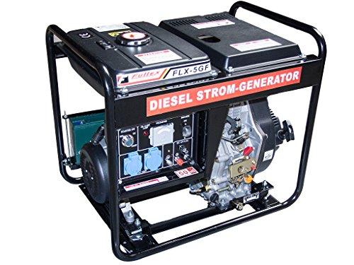 Diesel Stromerzeuger mit 4,8 kW Dauerleistung und Elektrostart im Test