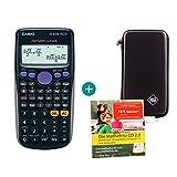 Casio FX-82DE Plus + Schutztasche + Lern-CD (auf Deutsch)