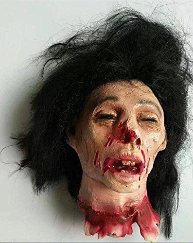 JJH-ENTER Halloween Kammer Bar Spukhaus Dekoration Terror Requisiten Simulation Umweltschutz Emulsion Weiblich (Einfach Niedlich Kostüme Weiblichen Halloween)