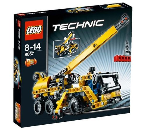 Technic-Mini-Mobile-Crane-8067-Technic-Mini-Container-Truck-8065