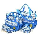 Babyhugs 6-teiliges Baby-Wickelset, Taschen-Set mit speziellem Beutel-Organizer.