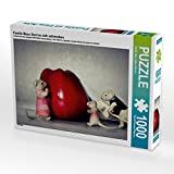 Familie Maus lässt es sich schmecken 1000 Teile Puzzle quer (CALVENDO Hobbys)