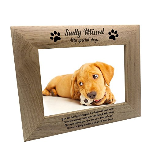 David Fischhoff Sadly Missed Special Dog Memorial Photo Frame 19 x 23cm