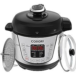 COSORI elektrischer Schnellkochtopf Multikocher, 7-in-1 programmierbarer Pressure Cooker, Muliticooker mit 24 Stunden Timer und Warmhaltefuntion, 2 L 720W