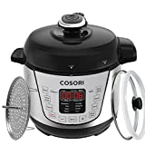 COSORI 7-in-1 Mini Electric Pressure Cooker, 2 Litre/720W, Programmable Multifunctional Rice Cooker, Slow