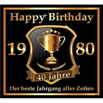Original RAHMENLOS/® Design 10 St Geburtstag. Selbstklebendes Bier-Flaschen-Etikett zum 30