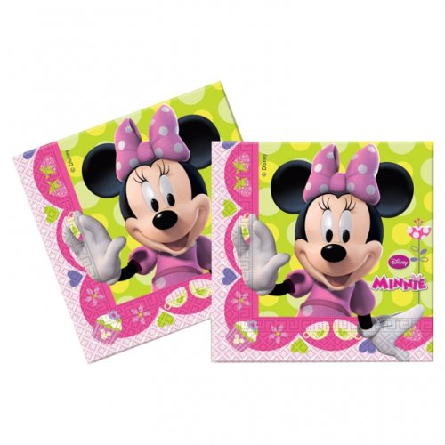 Minnie Mouse Bow Tique-Tovaglioli di carta, confezione da 20 - Mouse Bow