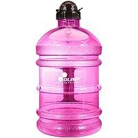 Olimp Sport Nutrition Water Jug Gym Bottle Wasserflasche Trinkflasche Wasser Gallon Training, Fitness Sport 2.2 Liter (Pink)