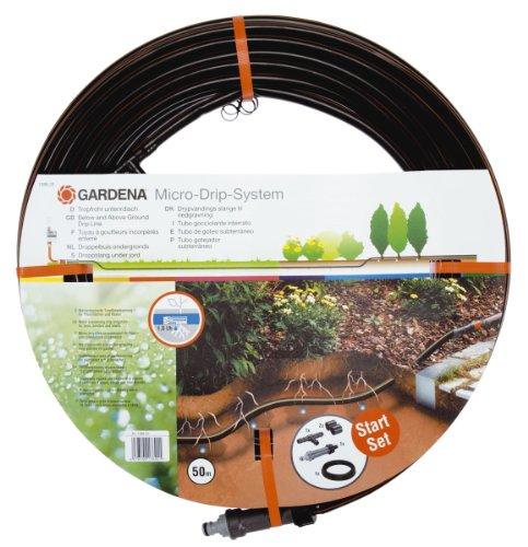 Gardena 1389-20 Micro-Drip-System Tropfrohr unterirdisch 13,7 mm, 1,6 l/h, 50 m