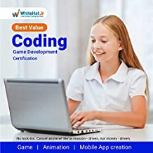 WhiteHat Jr 8 Class Game Developer Coding Course for Kids Age 6-18(Email delivery in 2 hours)
