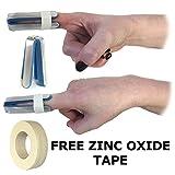 talarmade Digitec grande in alluminio Quattro Prong Finger Joint Support confortevole in schiuma modellabile Splint