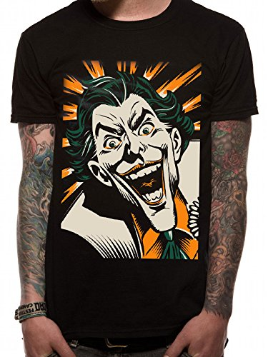 CID Herren the Joker T-Shirt schwarz