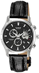 Casio Enticer Black Dial Men's Watch - BEM-501L-1AVDF (BS063)