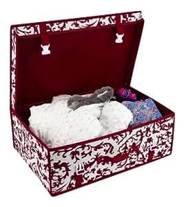 Robe de mariée mariage boîte de rangement sous lit housse luxe 56X37x 20cm