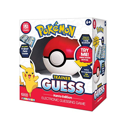 Pokémon 36175 Trainer Guess-Kanto Edition-hochwertiges Pokétrainer-Set zum Spielen, Multicolored - Spielzeug Elektronische Pokemon