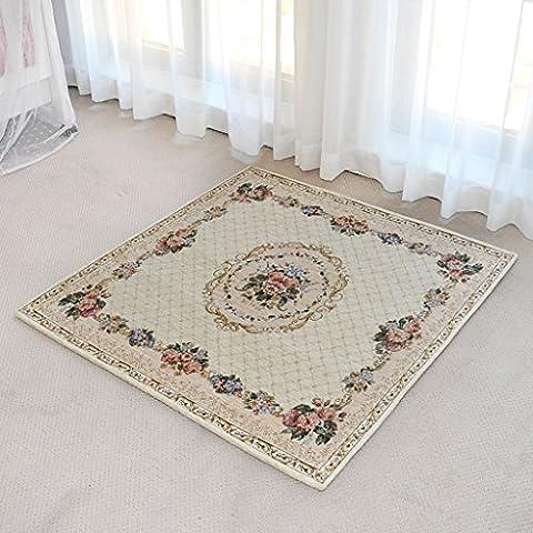 Europa e lavabile in lavatrice Moquette Pendere Porta Carpet Scale americano di studio dei computer Chair Cuscino quadrato