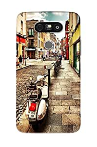 Omnam Streets Of Italy Printed Designer Back Cover Case For LG G5