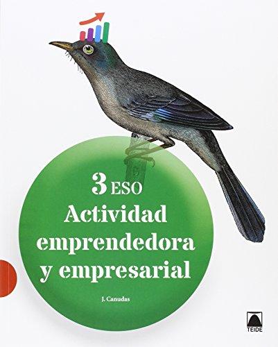 Actividad emprendedora y empresarial 3 ESO