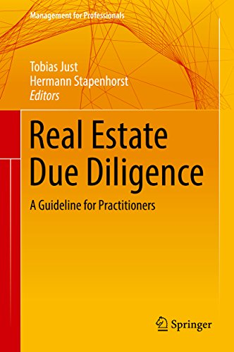 Real Estate Due Diligence: A Guideline for Practitioners (Management for Professionals)