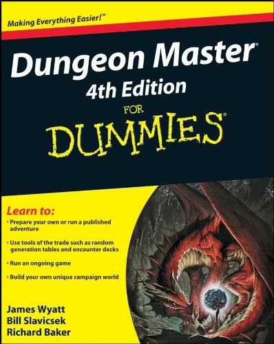 Dungeon Master For Dummies (For Dummies Series)