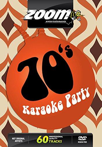 Zoom Karaoke DVD - Seventies Karaoke Party (70\'s) - 60 Songs