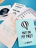 Zellie bébé Milestone Cartes Mémoire-conçu par Florentino Monteiro-30cartes de souvenir pour Capturer bébé souvenirs-Cadeau idéal ou cadeau pour baby shower