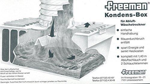 Freeman Kondens-Box für Abluft-Wäschetrockner -