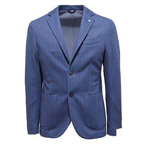 2691O giacca L.B.M. 1911 blu giacche uomo jackets men [50 R]
