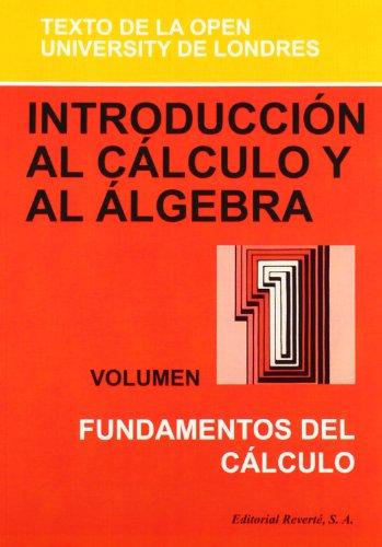 Introducción Al Cálculo Y Al Álgebra