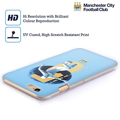Ufficiale Manchester City Man City FC Kevin de Bruyne Giocatori Cover Retro Rigida per Apple iPhone 5 / 5s / SE Pablo Zabaleta