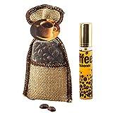 Fishyu Kaffeebohne Beutel Kaffee Parfüm Aromatherapie-Auto hängenden Rückspiegel hängt