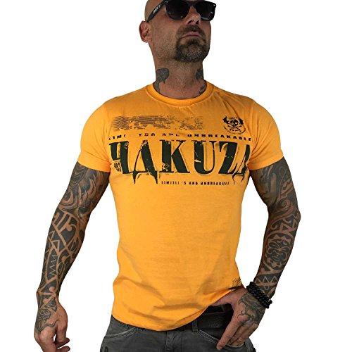 Yakuza Original Herren OK! T-Shirt bright marigold