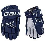 Bauer NSX Handschuhe Senior, Größe:13 Zoll, Farbe:Navy