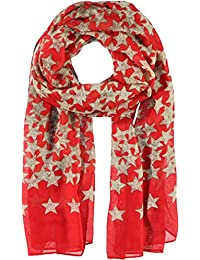 Passigatti Women's Scarf red 40-Rot One size