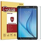 """OMOTON Samsung Galaxy Tab E 9,6"""" Protection d'écran Verre Trempé (9H, Sans Bulles, Transparent)"""