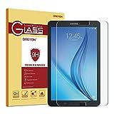 OMOTON Samsung Galaxy Tab E 9,6' Protection d'écran Verre Trempé (9H, Sans Bulles, Transparent)