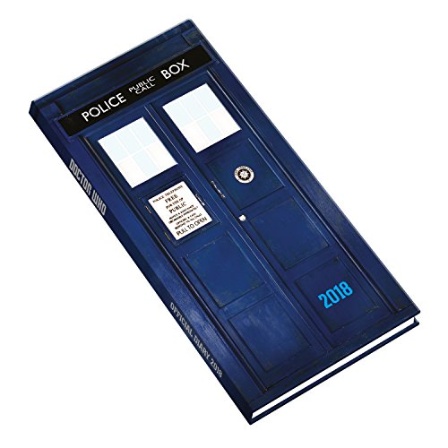 Doctor Who Official 2018 Diary - Week to View Slim Pocket Format por Doctor Who