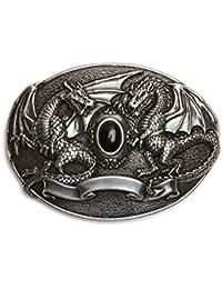 VaModa Boucle de ceinture 'Black Dragon'
