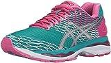 ASICS Women's Gel-Nimbus 18 running Shoe, Lapis/Silver/Sport Pink, 6.5 M US